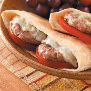 Mini Greek Burgers Recipe photo by Taste of Home