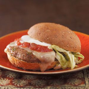 """Little Kick"" Jalapeno Burgers Recipe"