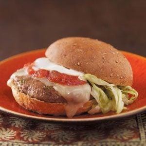 """Little Kick"" Jalapeno Burgers Recipe"
