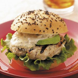 Floribbean Fish Burgers with Tropical Sauce Recipe