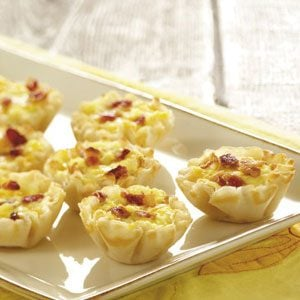 Makeover Mini Bacon Quiches Recipe