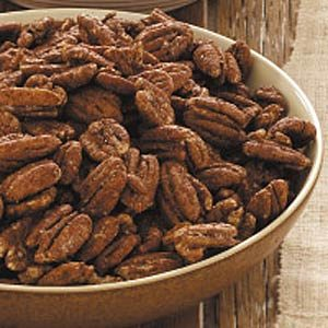 Sugar-Free Spiced Pecans Recipe