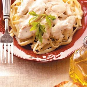 Rich Chicken Alfredo Recipe