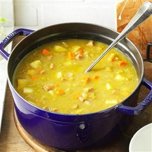 Split Pea Soup with Ham Recipe photo by Taste of Home