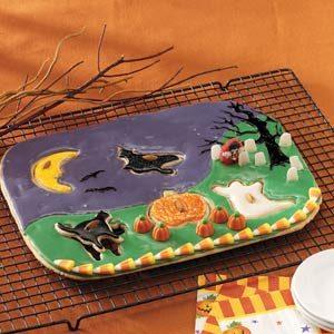 Halloween Night Cookie Puzzle Recipe