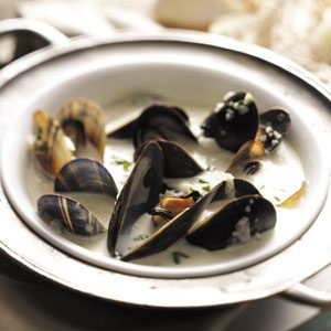 Cream of Mussel Soup Recipe