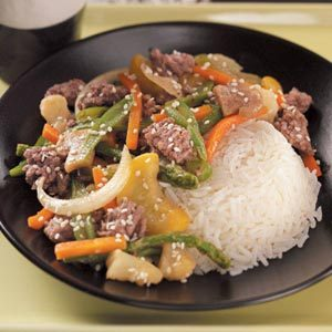 Hamburger Stir-Fry