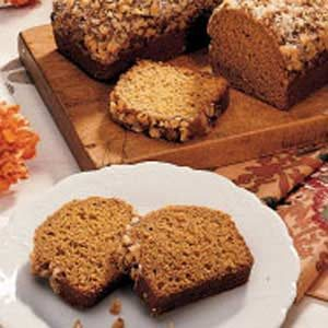 Pumpkin Gingerbread Recipe photo by Taste of Home