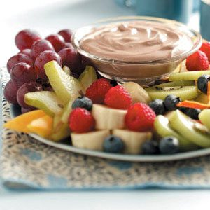 Chocolaty Fruit Dip Recipe