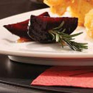 Roasted Rosemary Beet Skewers Recipe