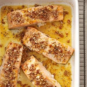 Pecan-Orange Salmon Recipe
