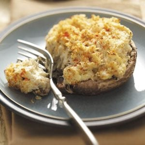 Crab Cake-Stuffed Portobellos Recipe