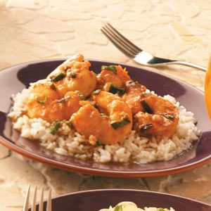Shrimp with Ginger-Chili Sauce Recipe