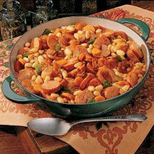 Kielbasa Skillet Stew Recipe
