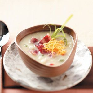 Makeover Hash Brown Soup Recipe