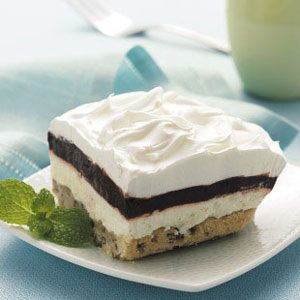 Layered Chocolate Pudding Dessert Recipe
