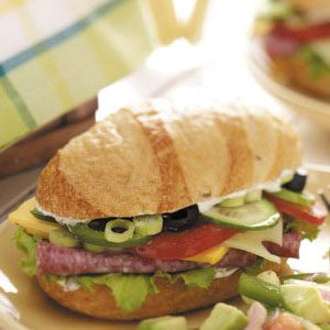 Garden Fresh Subs Recipe