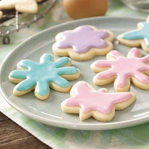 Pastel Tea Cookies Recipe