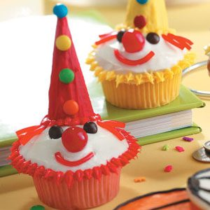 Clown Cupcakes Recipe