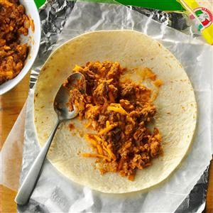 Freezer Burritos Recipe