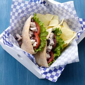 Easy Greek Chicken Sandwiches Recipe