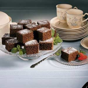 Grandmother's Chocolate Cake Recipe