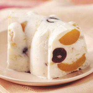 Frosty Mallow Fruit Dessert Recipe