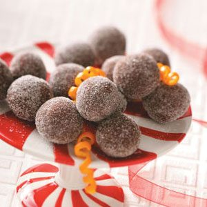 Dark Chocolate Orange Truffles Recipe