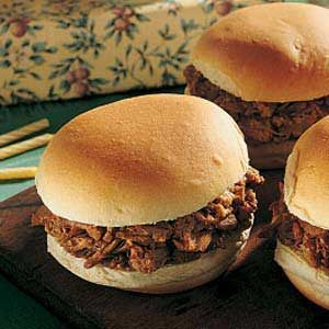 Mother's Barbecued Pork Sandwiches Recipe