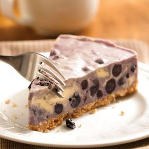 Blueberry Ice Cream Tart Recipe