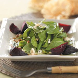 Warm Roasted Beet Salad Recipe