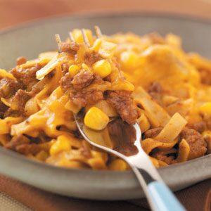 Beef Fettuccine Dinner Recipe