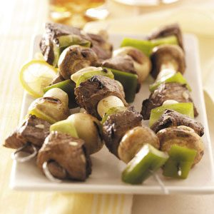 Lemon Beef Kabobs Recipe