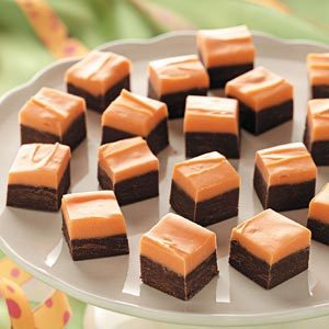 Halloween Layered Fudge Recipe