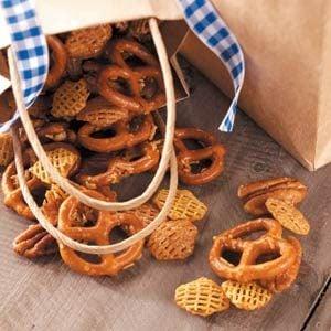 Sweet Honey-Glazed Snack Mix Recipe