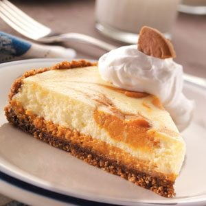 Snappy Pumpkin Cheesecake Recipe
