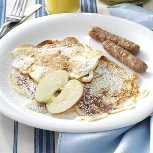 Polish Apple Pancakes Recipe