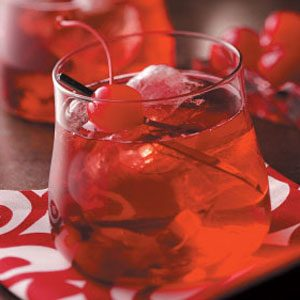 Cherry Brandy Old-Fashioned Recipe
