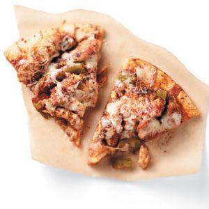 Cheesy Chicken Fajita Pizza Recipe