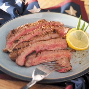 Homemade Marinated Flank Steak Recipe