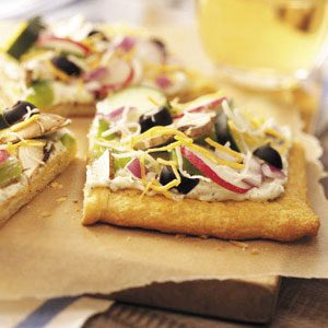 Cold Vegetable Pizza Recipe