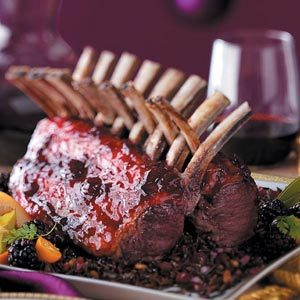 Glazed Racks of Lamb Recipe