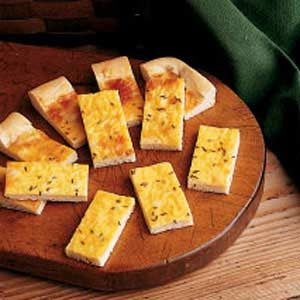 Cheese Snack Bread Recipe