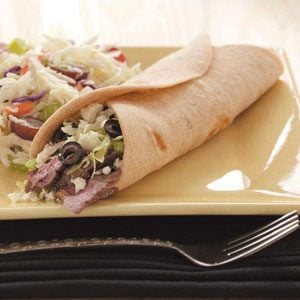 Super Flatbread Wraps Recipe