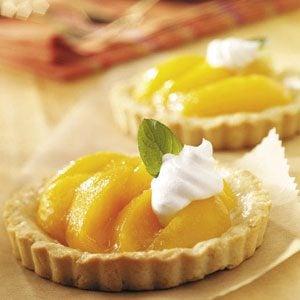 Peach Tartlets Recipe