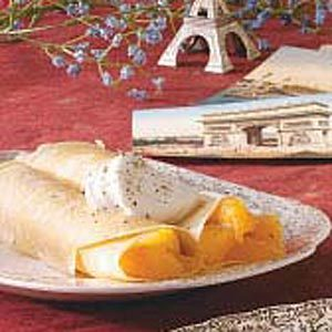 Peach Crepes Recipe