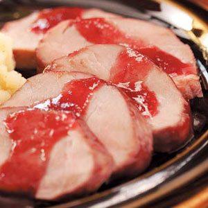 Pork Tenderloin with Spiced Plum Sauce Recipe