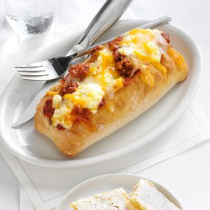 Baked Lasagna in a Bun Recipe