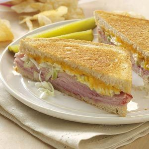 Zesty Grilled Sandwiches Recipe
