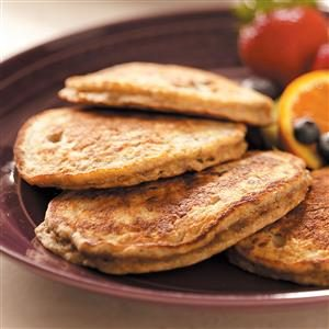 Flaxseed Oatmeal Pancakes Recipe